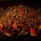 "Devi Durga Family by "" RiSH """