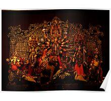 Devi Durga Family Poster