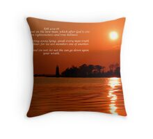 Ephesians 4:24-26 Throw Pillow