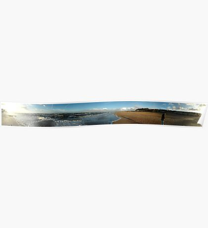 Cliffs of Old Hunstanton Panorama Poster