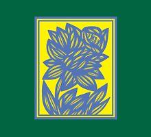 Eskridge Flowers Yellow Blue Tank Top