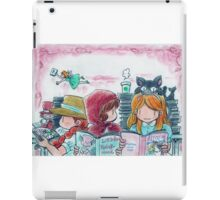 My picture book cafe iPad Case/Skin