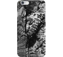 Wild goanna iPhone Case/Skin