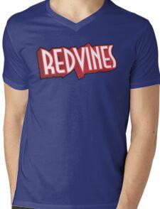 Redvines Mens V-Neck T-Shirt
