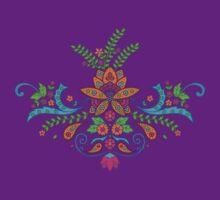 India Style Lotus Flower by shantitees