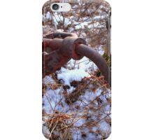 Engine starter iPhone Case/Skin