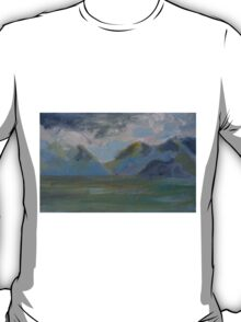 STORM OVER THEM MOUNTAINS(C2013) T-Shirt