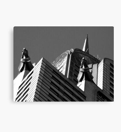 Chrysler Abstract Canvas Print