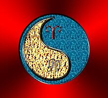 Aries & Rabbit Yin Water by astrodesigner75