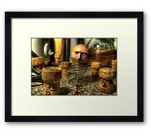 Eggsecution VIII - The Cork Uprising Framed Print