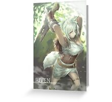 Riven - League of Legends Greeting Card