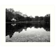 Conservatory Water, Central Park Art Print