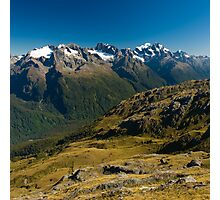 scenic view over fiordland Photographic Print