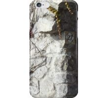 Number 27 on the Amalfi Coast in Italy iPhone Case/Skin