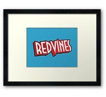Redvines Framed Print