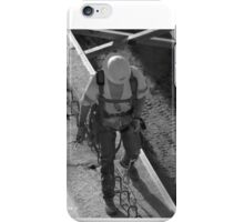 Step 1, Walk Safely, Construction site (HWY I635 Dallas, TX) iPhone Case/Skin