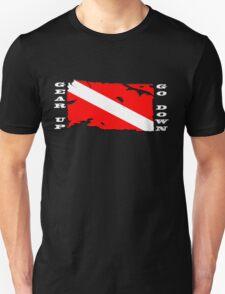 Gear Up Go Down - For Dark Shirts T-Shirt