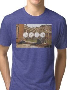 Bath Typography Print Tri-blend T-Shirt