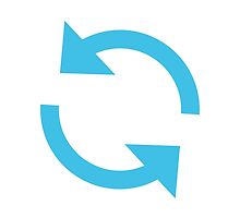 Anticlockwise Downwards And Upwards Open Circle Arrows Google Hangouts / Android Emoji by emoji