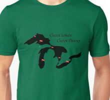 Great Lakes, Great Diving Unisex T-Shirt