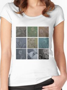 Lullaby of Birdland (Vintage) Tshirt Women's Fitted Scoop T-Shirt