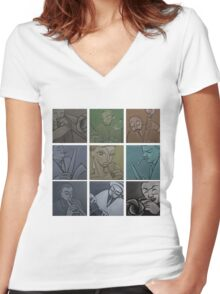 Lullaby of Birdland (Vintage) Tshirt Women's Fitted V-Neck T-Shirt