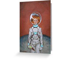 Sarsaparilla in Space Greeting Card