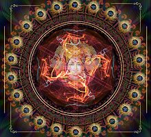 Divine awakening with the Power of Gayatri.   by Olga Kuczer
