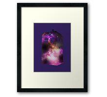 Space Tardis Framed Print