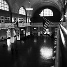 Ellis Island Registry Room by Mark Wilson