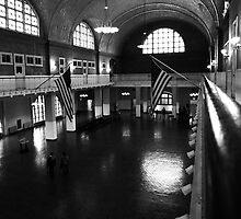 Ellis Island Registry Room by Mark Wilson