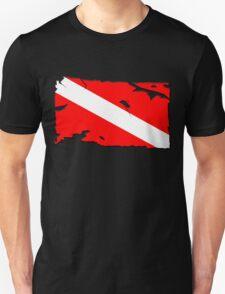 Divers Down Flag Unisex T-Shirt