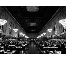 New York Public Library Photographic Print