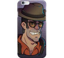 Red Sniper Print iPhone Case/Skin