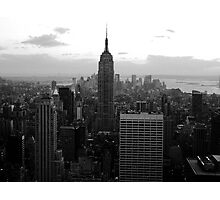 Tallest Building in New York City Photographic Print