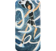 Dancing Woman, Roaring Twenties Flapper, Jazz Age Art iPhone Case/Skin