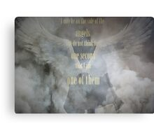 Sherlock Holmes Angels Canvas Print