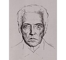 Christopher Walken tshirt and prints Photographic Print