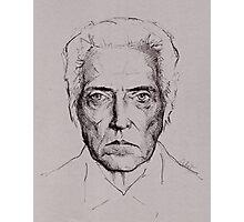 Christopher Walken tshirt and prints Photographic Print