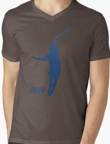 iSMASH Tennis Mens V-Neck T-Shirt