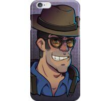 Blue Sniper Print iPhone Case/Skin
