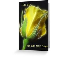 You Are -1 Greeting Card