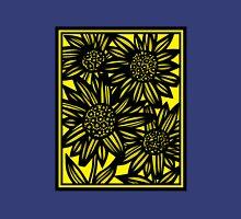 Lucear Flowers Yellow Black Tank Top