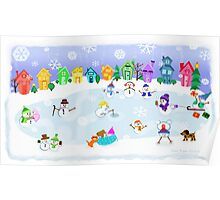 Snow Day Frozen Fun  Poster