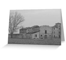Tuscan Farmhouse in Italy Greeting Card