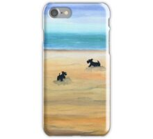 Scottie Dogs 'Day At The Beach' iPhone Case/Skin