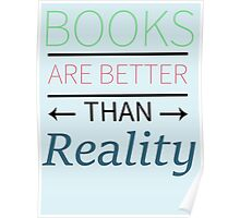Books Are Better Poster