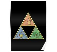Pokemon Triforce Poster