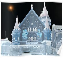 Negative Castle Poster