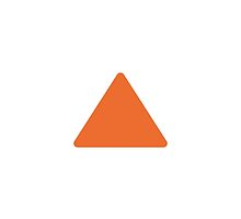 Up-Pointing Small Red Triangle Google Hangouts / Android Emoji by emoji